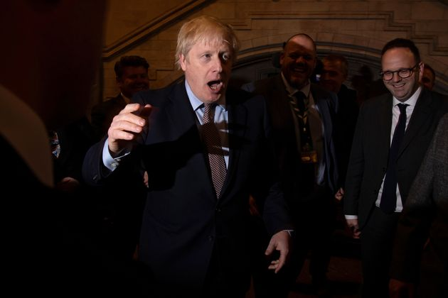 Boris Johnson, primer ministro