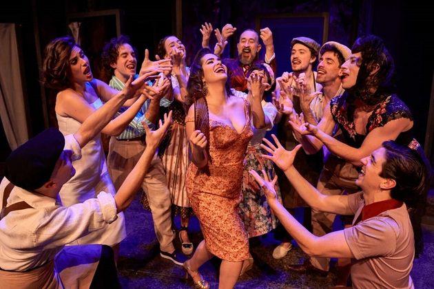 Elenco de La señora y la criada, de la Joven Compañía Nacional de Teatro