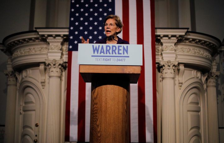 Sen. Elizabeth Warren, like the other leading Democratic candidates for president, did not reveal how much money remains in h