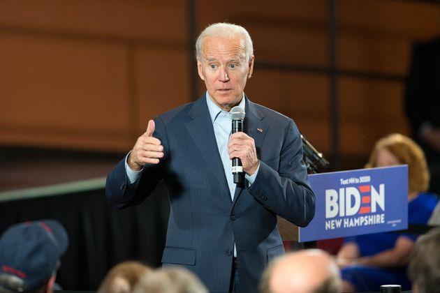 Après la mort du général Soleimani, les démocrates -dont Joe Biden ici le...