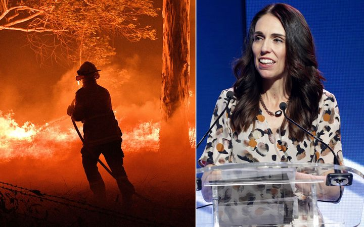Jacinda Ardern has sent another team of firefighters to help with the bushfire crisis that has killed at least 18 people.