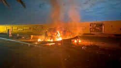 Le immagini dopo il raid Usa a Baghdad che ha ucciso Qassam