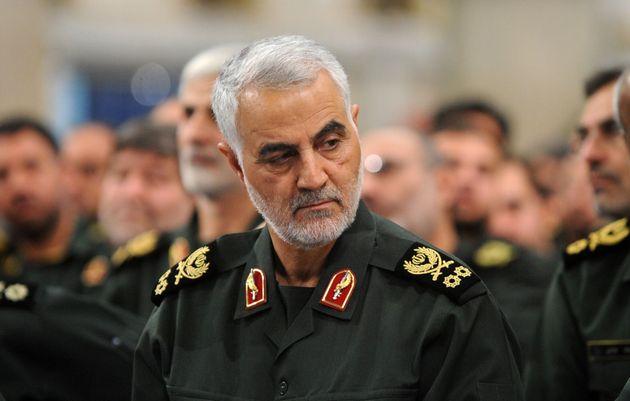 Qasem Soleimani, morto em Bagdá nesta sexta, em foto de