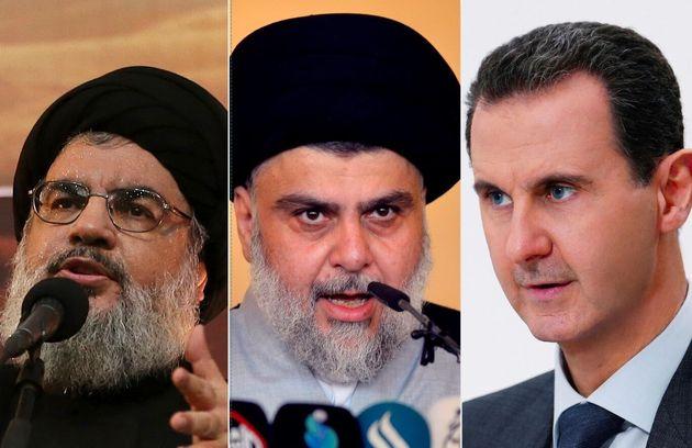 Il leader di Hezbollah Hassan Nasrallah, il leader iracheno sciita Moqtada al-Sadr, il presidente siriano...
