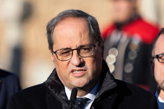 El presidente de Cataluña, Quim