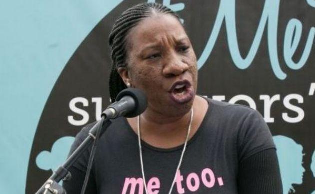 La activista Tarana Burke en una imagen de