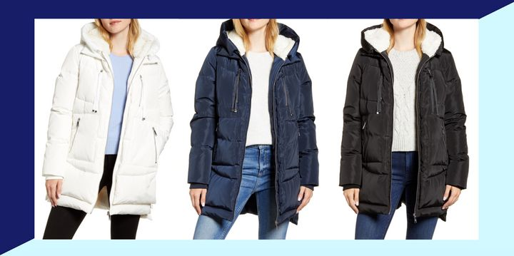 """This dupe of """"the Amazon Coat"""" is on sale at Nordstrom right now."""