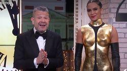 'Cazamariposas', un programa de Mediaset, se burla y parodia el vestido de Cristina Pedroche en
