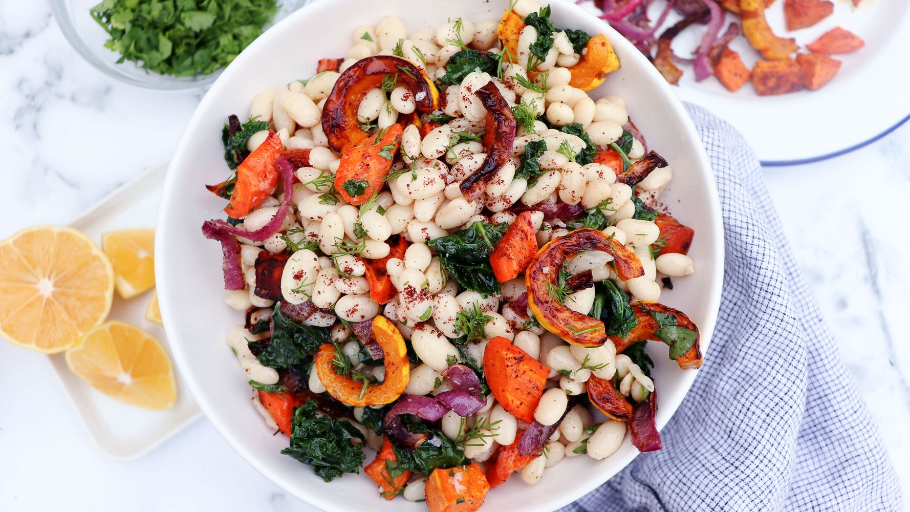 Warm Bean Salad: For When You're Sick Of Leafy Greens