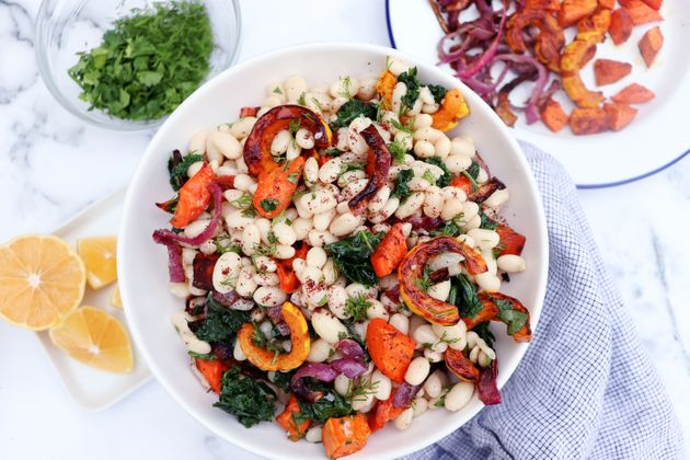 This Warm Braised Bean Salad Will Help You Keep Your Healthy Resolutions
