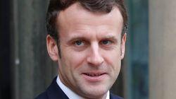 Macron adresse son