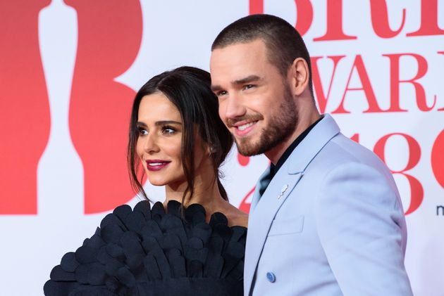 Cheryl and Liam Payne attend The BRIT Awards