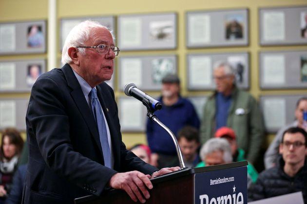 Bernie Sanders speaks le 3 janvier
