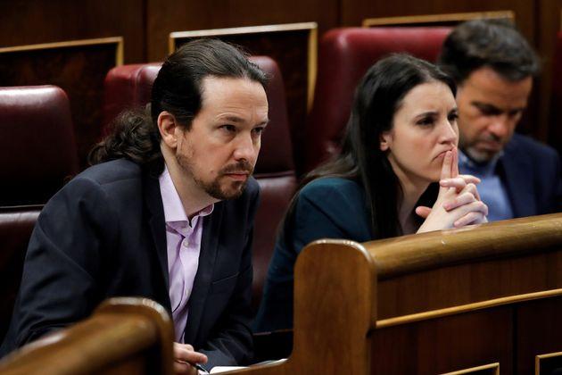 Pablo Iglesias e Irene