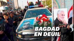 Les images des funérailles de Qassem Soleimani à