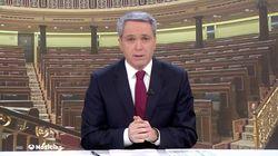 Vicente Vallés ('Antena 3 Noticias') sorprende con este tuit sobre el discurso de