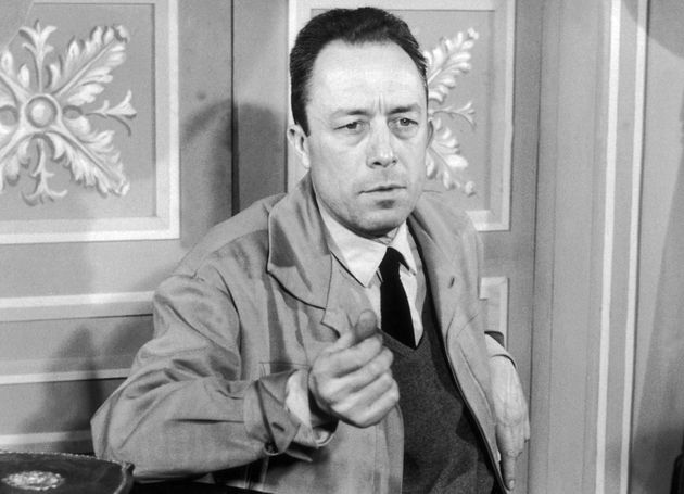FRANCE - JANUARY 24: The French writer Albert CAMUS at the time he was directing the play THE POSSESSED,...
