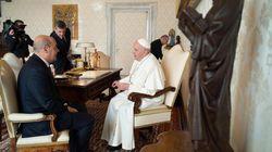Zingaretti in udienza dal Papa: