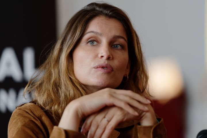 NAMUR, BELGIUM - OCTOBER 03: Laetitia Casta answers to the media during a press conference as she attends 34th Namur International French-Language Film Festival -FIFF on October 03, 2019 in Namur, Belgium. (Photo by Sylvain Lefevre/Getty Images)