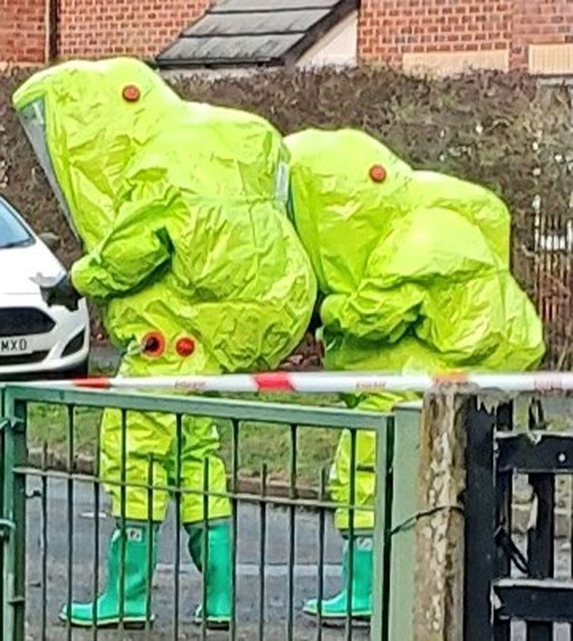 Police Shut Street In Greater Manchester After Man Consumes Unknown Substance
