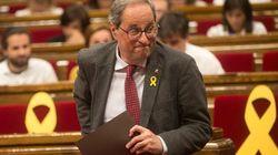 JxCat, ERC y CUP proponen ratificar a Torra y denuncian un