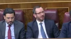 La reacción de Maroto cuando Iglesias le dice que con el PP no habría podido casarse: se ve claramente en sus