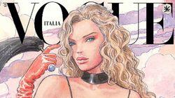 Vogue Italia di gennaio senza foto, è la prima volta nella