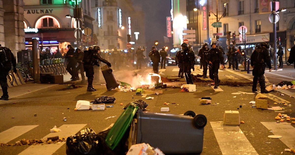 À Paris, la manif' contre la réforme des retraites se termine dans la confusion - Le HuffPost