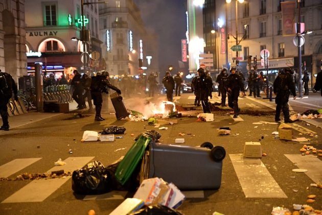 Aux abords des gares du Nord et de l'Est, à Paris, la situation était passablement tendue...