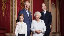 Royal Family Releases Rare Portrait Of Queen With 3 Generations Of