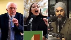 Jagmeet Singh Explains NDP To Americans Using AOC, Bernie