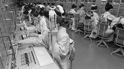 48年前の仕事始めの写真から、日本の働き方の変遷を振り返る(画像集)