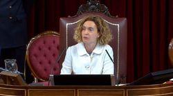 La aplaudida respuesta de Meritxell Batet a la bronca por la intervención de EH