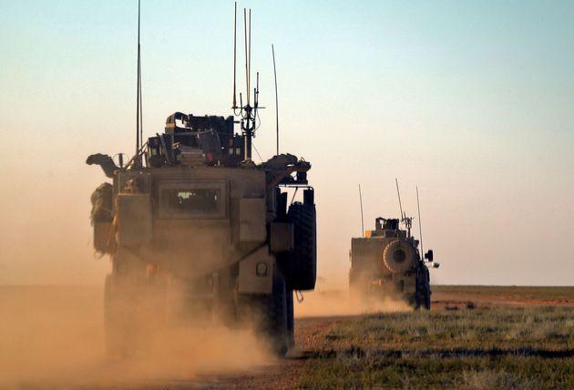 Dans la zone irako-syrienne, les États-Unis mènent une coalition internationale destinée...