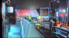 5死亡しており、多数が負傷した複数の車両クラッシュペンシルバニアターンパイク