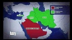 Il Tg1 confonde sciiti e sunniti nella mappa del Medio