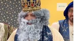Detrás de la barba blanca de Melchor hay un conocido cantante: ¿sabes quién