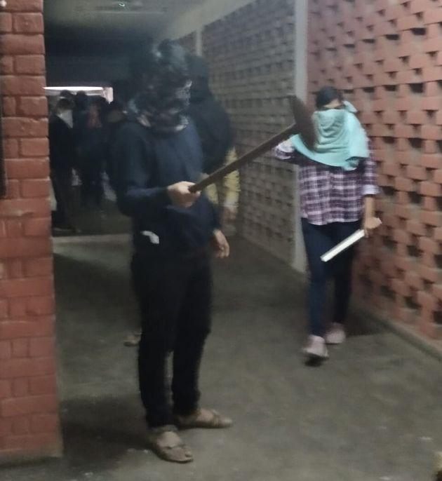 Masked attackers at