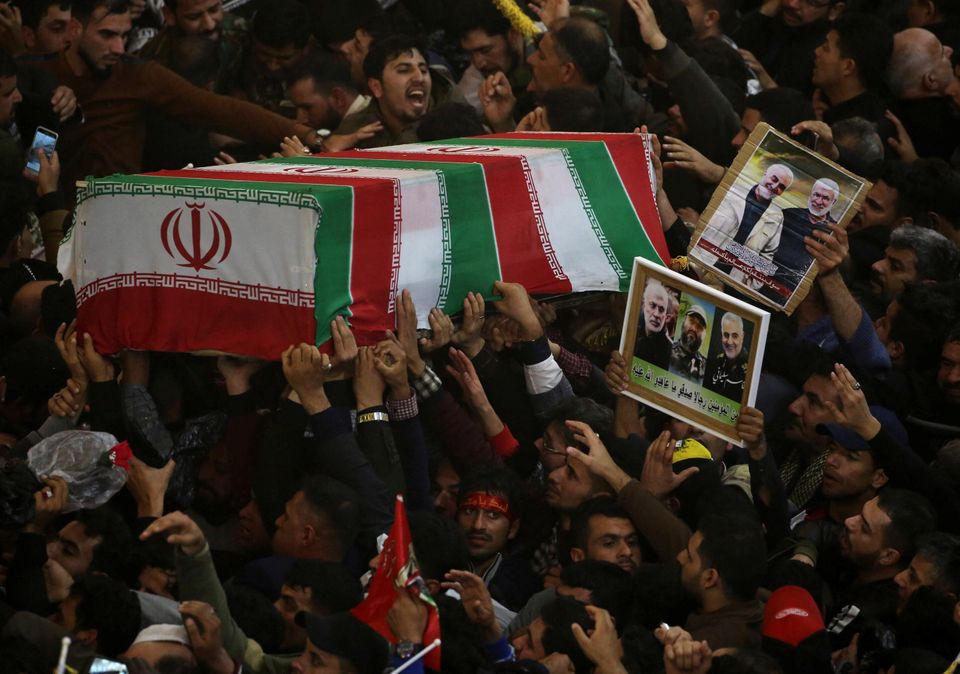 Qassem Soleimani Funeral: Huge Crowds Mourn Commander Killed In US Air Strike