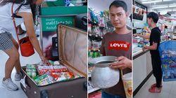 Depuis l'interdiction des sacs plastiques, les Thaïlandais innovent pour faire leurs