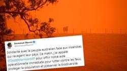 Face aux incendies, Macron propose une