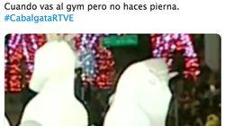 Siete tuits de risa que resumen cómo fue la cabalgata de Reyes de