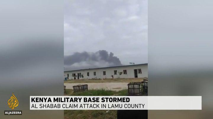 Al-Shabab extremists attacked the Manda Bay Airfield in Kenya on Sunday, killing three Americans.