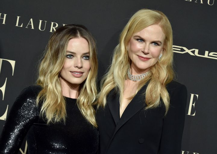 Margot's Bombshell co-star Nicole Kidman pledged a $500,000 donation on behalf of her family to the New South Wales state Rural Fire Service.