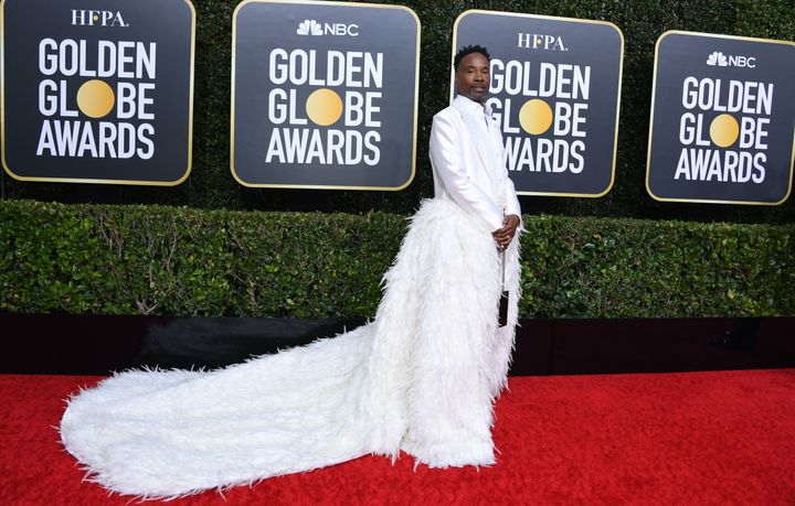 """Pose"" star Billy Porter at the Golden Globes."