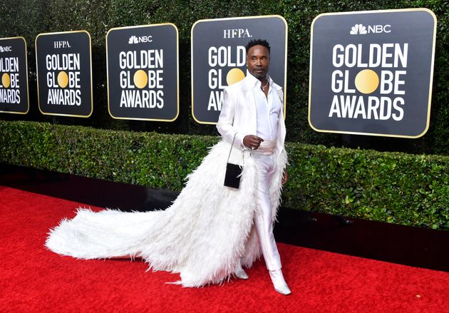 Golden Globes 2020: Billy Porter Definitely Doesnt Disappoint On The Red Carpet