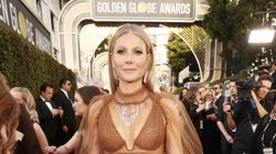 Gwyneth Paltrow Wears So Much And Nothing At All To The Golden