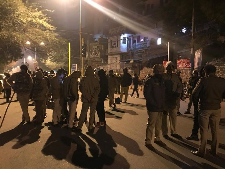 On Jan 5 2020, a group of masked men attacked a group of students on the campus of Jawaharlal Nehru University, New Delhi, India. The Delhi police is under fire for not doing enough to prevent the violence.