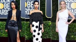 What's Black And White And Sparkly All Over? These Golden Globes