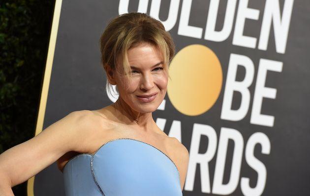 Renee Zellweger llega al Globo de Oro 2020